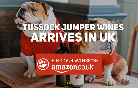 Tussock Jumper Wines arrives in UK